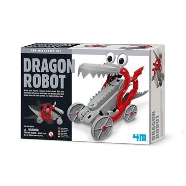4M 4M Ejderha Robot Renkli